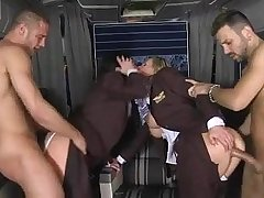 CFNM - be suffering with stewardess' fucked in roguish classification