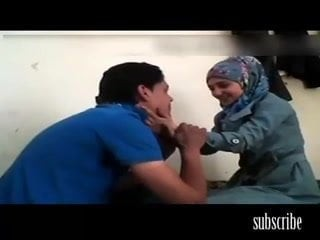 Hot hijab copulation between twosome arabs homemade literal