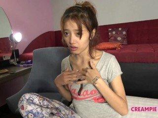 Thai Mädchen Pattaya Creampie